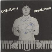 Click here for more info about 'Colin Towns - Breakdown - Autographed'