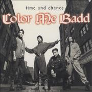 Click here for more info about 'Color Me Badd - Time And Chance'