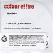 Click here for more info about 'Colour Of Fire - The Exile'