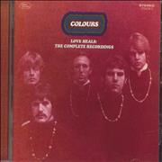 Colours (60s) Love Heals: The Complete Recordings UK CD album
