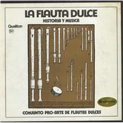 Click here for more info about 'Conjunto Pro Arte De Flautas Dulces - La Flauta Dulce Historia Y Música'