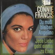 Click here for more info about 'Connie Francis - Du Mußt Bleiben Angelino - WOC'