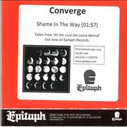 Click here for more info about 'Converge - Shame In The Way'