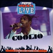 Click here for more info about 'Coolio - C U When You Get There - Live'