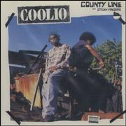 Click here for more info about 'Coolio - County Line/Sticky Fingers'