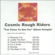 Click here for more info about 'Cosmic Rough Riders - Too Close To See Far Album Sampler'