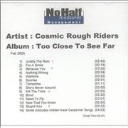 Click here for more info about 'Cosmic Rough Riders - Too Close To See Far'