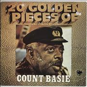 Count Basie 20 Golden Pieces Of Count Basie UK vinyl LP