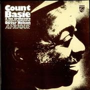 Count Basie Afrique UK vinyl LP