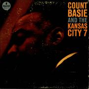 Count Basie And The Kansas City 7 UK vinyl LP