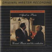 Count Basie April In Paris - Gold USA CD album