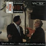 Count Basie April In Paris - stickered outer Japan vinyl LP