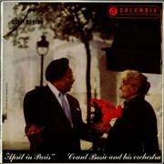Count Basie April In Paris UK vinyl LP