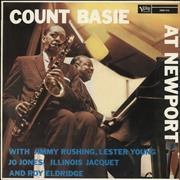 Count Basie At Newport France vinyl LP