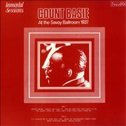 Count Basie At The Savoy Ballroom 1937 UK vinyl LP