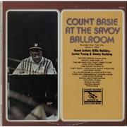 Count Basie At The Savoy Ballroom USA vinyl LP