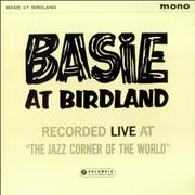 Count Basie Basie At Birdland - Factory Sample UK vinyl LP