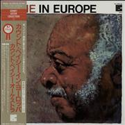 Count Basie Basie In Europe Japan vinyl LP