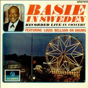 Count Basie Basie In Sweden UK vinyl LP