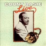 Count Basie Basie Live UK vinyl LP