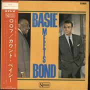 Count Basie Basie Meets Bond Japan vinyl LP