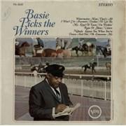 Count Basie Basie Picks The Winners USA vinyl LP