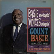 Count Basie Basie Swingin' Voices Singin' USA vinyl LP