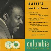 "Count Basie Basie's Back In Town - EX UK 7"" vinyl"