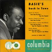 "Count Basie Basie's Back In Town UK 7"" vinyl"