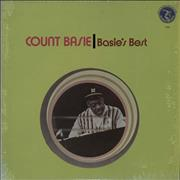 Count Basie Basie's Best USA vinyl LP