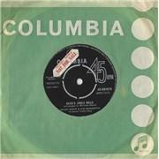 """Count Basie Basie's Jingle Bells UK 7"""" vinyl"""