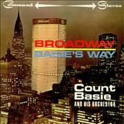 Count Basie Broadway Basie's Way - Factory Sample UK vinyl LP