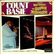 Count Basie Captures Walt Disney's The Happiest Millionaire UK vinyl LP