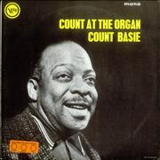 Count Basie Count At The Organ UK vinyl LP