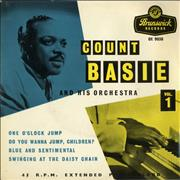 "Count Basie Count Basie And His Orchestra Vol.1 UK 7"" vinyl"