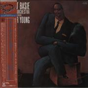 Count Basie Count Basie And His Orchestra Featuring Lester Young Japan vinyl LP