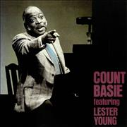 Count Basie Count Basie Featuring Lester Young Japan vinyl LP