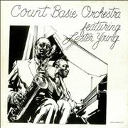 Count Basie Count Basie Orchestra Featuring Lester Young USA vinyl LP