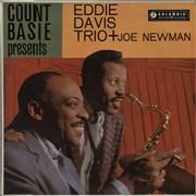 Count Basie Count Basie Presents Eddie Davis Trio Plus Joe Newman UK vinyl LP