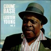 Count Basie Count Basie With Lester Young Vol. 2 France vinyl LP