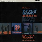 Count Basie Dance Along With Basie UK vinyl LP