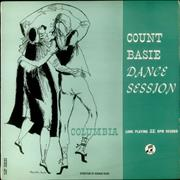 Count Basie Dance Session UK vinyl LP