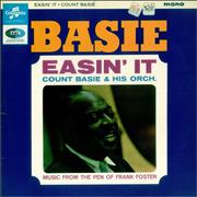 Count Basie Easin' It UK vinyl LP