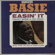 Count Basie Easin' It USA vinyl LP