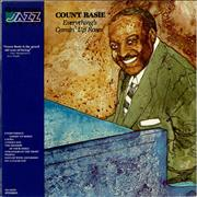 Count Basie Everything's Comin' Up Roses USA vinyl LP