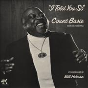 Count Basie I Told You So UK vinyl LP