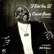 Count Basie I Told You So Japan vinyl LP Promo