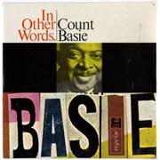 "Count Basie In Other Words EP UK 7"" vinyl"