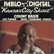 Count Basie Kansas City Shout - Red Vinyl USA vinyl LP