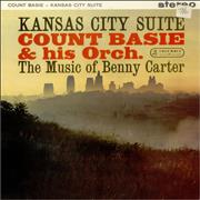 Count Basie Kansas City Suite - The Music Of Benny Carter - Stereo UK vinyl LP